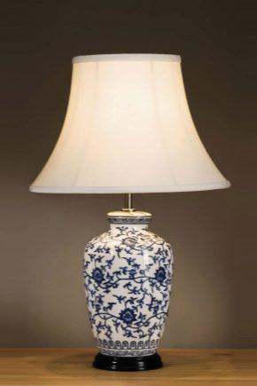 Bordslampor med lampskärm