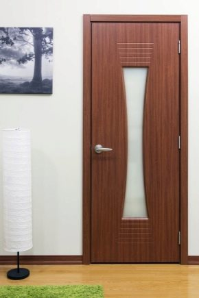Features of laminated doors