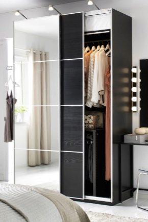 Spiksplinternieuw Kleerkasten voor kleding van Ikea: smalle schommel en opklapbare DN-15