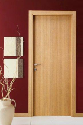 Veneered doors: the pros and cons