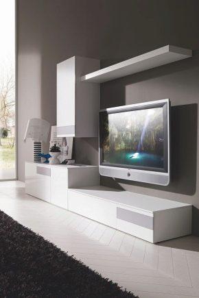 Moderna väggar i vardagsrummet