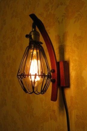 Loft stil belysning
