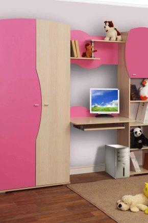 Välja en garderob i barnkammaren