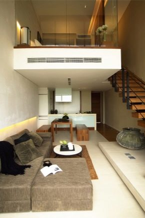 Design of a two-level apartment: interesting options