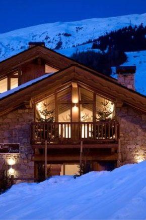 Chalet-stil hus: funktioner i alpina arkitektur