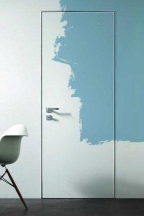 How to paint the door?