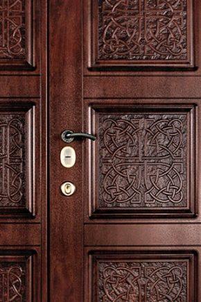 एमडीएफ दरवाजा कवर: डिजाइन सुविधाओं