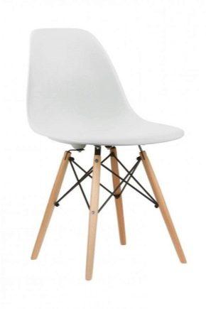 Weißer Stuhl Metalldesign Im Provenzalischen Stil Für Das