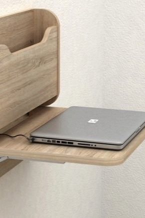 Tables pliantes avec fixation au mur