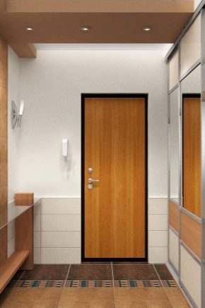Väggplattor i korridoren: ovanliga idéer
