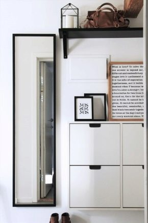Ikea hallways in a modern interior
