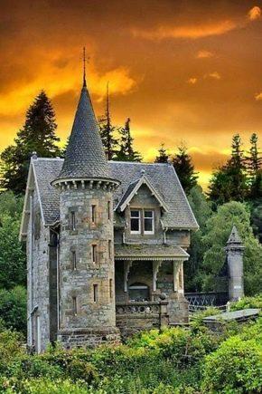 Husprojekt i slottets stil: Exempel på interiörer