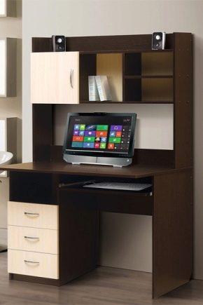 Rekommendationer för att välja en dator skrivbord med ett tillägg