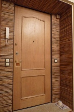 Variants of door design using laminate