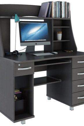 Alla fördelar och nackdelar med en stor dator skrivbord i inredningen