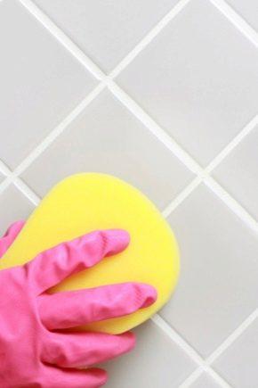 Hur torka injekteringen från plattan?