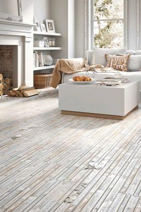 Design snygg interiör med ljusa golv