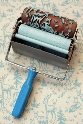 Texturerade rullar: typer och användningar