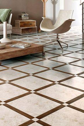 Glossy tile in interior design