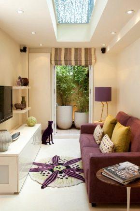 Living room: the subtleties of design in various styles