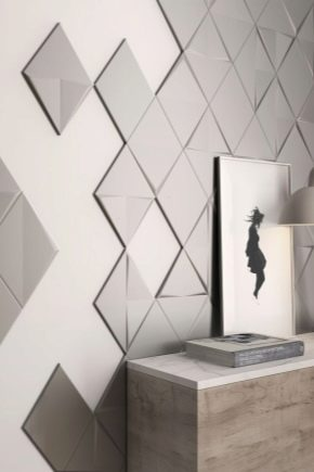 Metal tile: beautiful examples in the interior