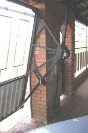Tilting grindar: design funktioner
