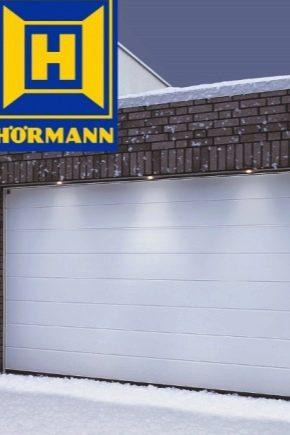 Sektionsdörr Hormann: fördelar och nackdelar