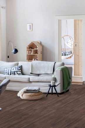 Fuktbeständig raffinerad spånplatta för golvet: typer och egenskaper