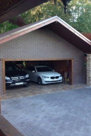 Hur väljer man den optimala storleken på garaget för två bilar?