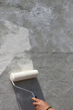 Måla betonggolv