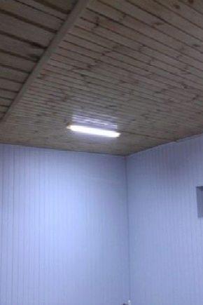 Taket i garaget: hur man gör och vad gör det