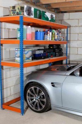 Tipi Di Scaffali.Scaffalature Per Il Garage 73 Foto Scaffali E Sistemi Di