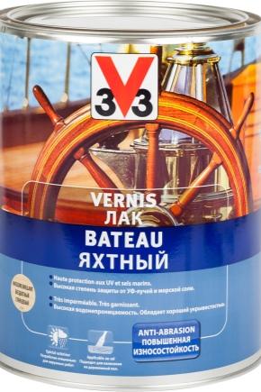 Yachtlack: Fördelar och nackdelar