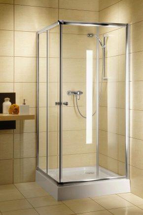 Vad är storleken på duschar?