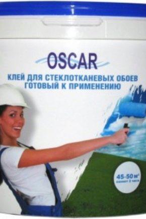 Oscar glasfiber lim: funktioner och specifikationer