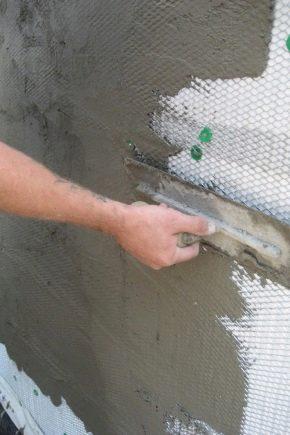 Caractéristiques de l'utilisation des mortiers de ciment-sable