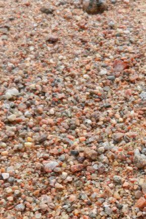 Mélange sable-gravier: caractéristiques et portée
