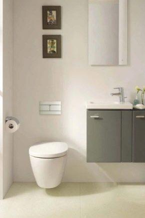 Upphängda toaletter Idealisk standard: Specifikationer