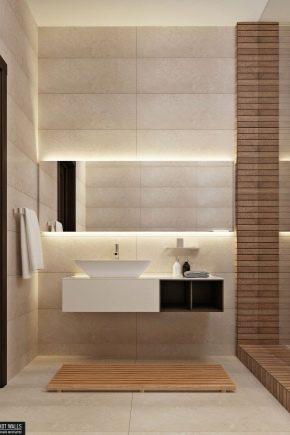 Passo dopo passo sul bagno con pannelli in PVC e idee di design
