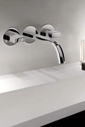Varianter av Wall Sink Mixers