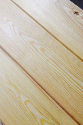 Lining Lugn furu: egenskaper och fördelar