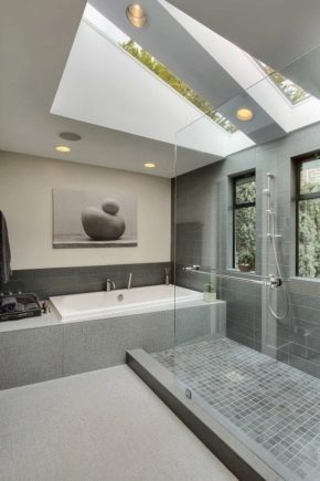 Bathroom in the style of minimalism: features of the choice of furniture, plumbing and accessories