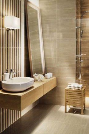 A selection of polish bathroom tiles