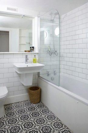 Vit kakel till badrummet: materialegenskaper och efterbehandling