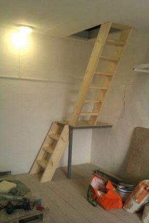 Scala al piano seminterrato (64 foto): installazione fai ...