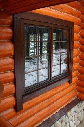 Molduras de janelas de madeira: os prós e contras de material ecológico