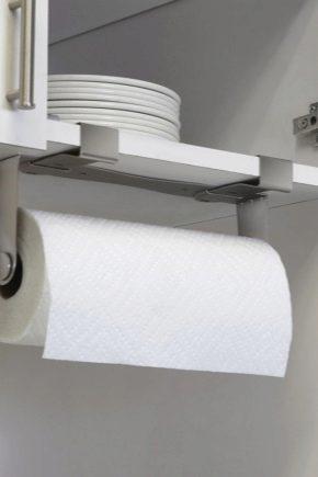 Hållare för pappershanddukar: praktiskt och bekvämt