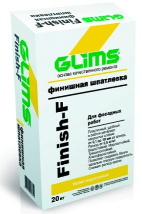 Use of dry building mixes Glims