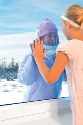 Como ajustar janelas de plástico para o inverno?