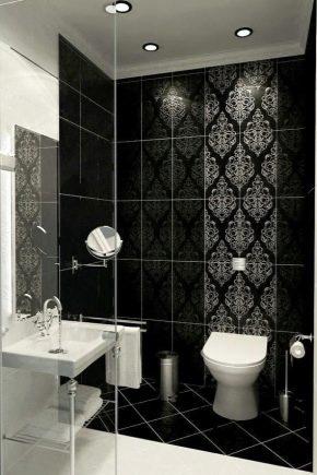 Baño Blanco Y Negro 35 Fotos Habitaciones Pequeñas Con Un